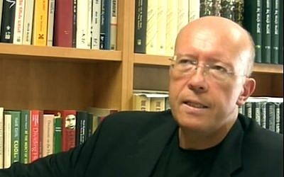 Prof. Jan Grabowski, author of 'Hunt for the Jews: Betrayal and Murder in German-Occupied Poland.' (YouTube screenshot)