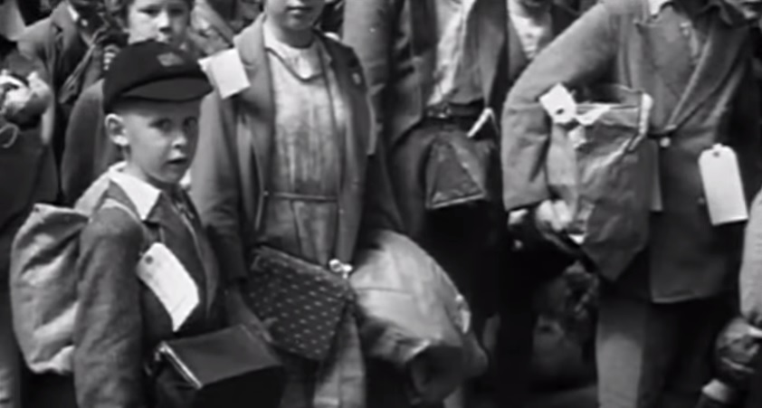 A still from the trailer for 'Into The Arms Of Strangers: Story of the Kindertransport' (YouTube screenshot)