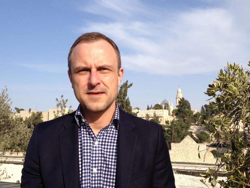 Counter-terrorism expert Peter Neumann in Jerusalem, December 2, 2014 (photo credit: Elhanan Miller/Times of Israel staff)