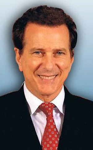 Rabbi David Baron of Beverly Hills' Temple of the Arts courtesy)