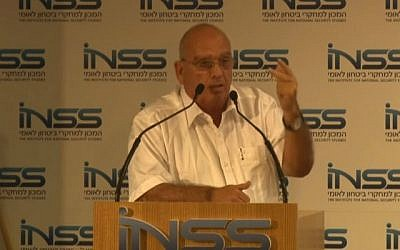 Brig. Gen. (ret.) Shalom Harari (photo credit: YouTube)