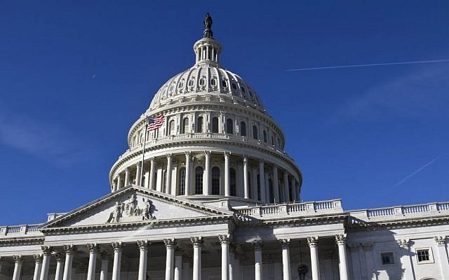The US Capitol building where Congress meets in Washington. (Shutterstock)