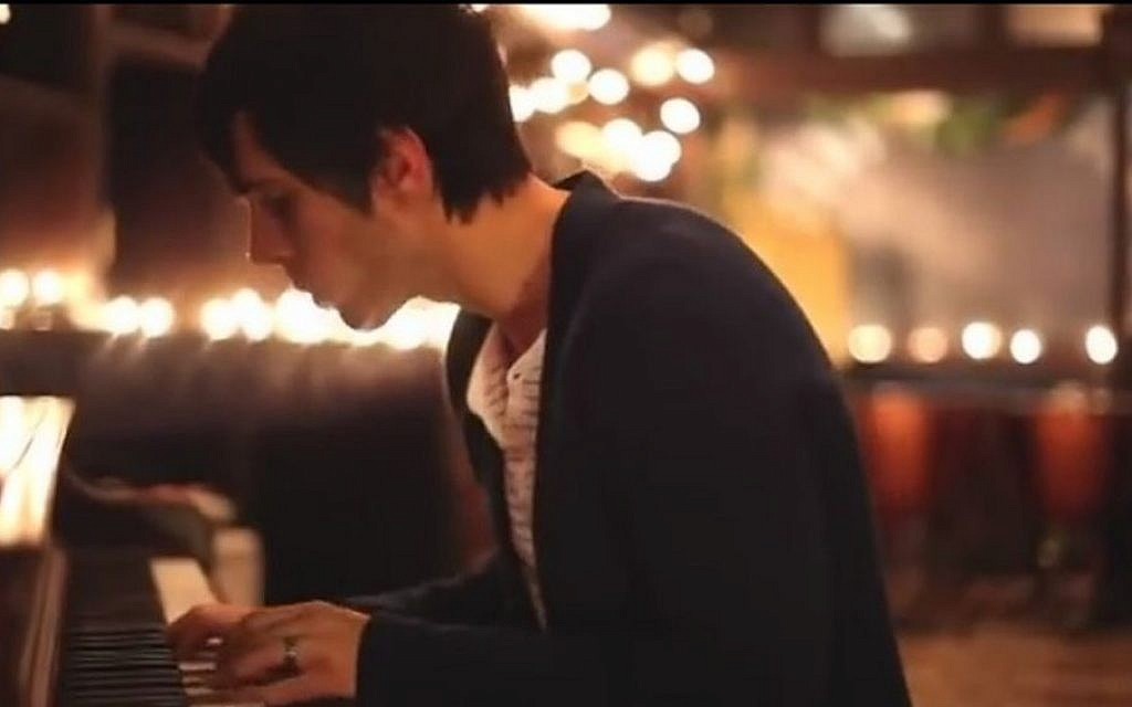 Cloverton vocalist Lance Stafford in the band's video for 'Hallelujah' (Photo credit: Youtube screen capture)