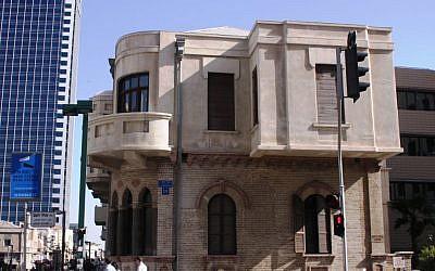 Akiva Arie Weiss's gem of a house on Herzl Street (photo credit: Shmuel Bar-Am)