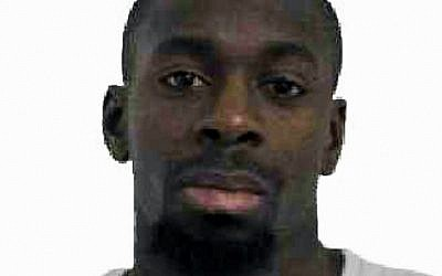 French police released this photo of Amedy Coulibaly, suspected of killing a policewoman in Montrouge on January 8, 2015, and four people at a Paris kosher supermarket on January 9, 2015. (Photo credit: AFP/French Police)