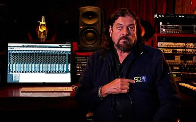 Alan Parsons of the Alan Parsons Project, in the studio (Photo credit: ESO/S. Lowery/CC BY 3.0)
