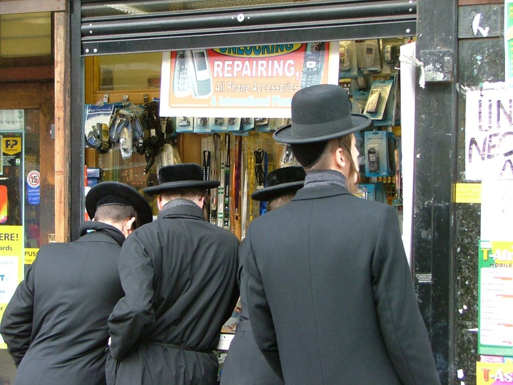 Orthodox Jews in the Stamford Hill section of London. (photo credit: CC BY dcaseyphoto, Flickr)