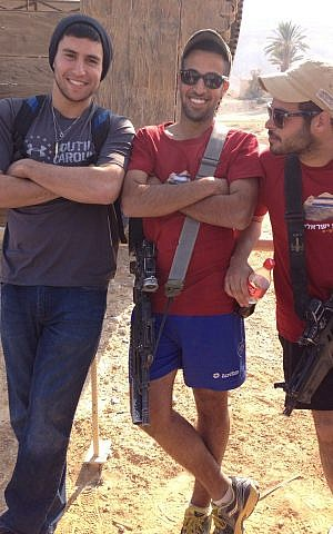 Daniel Mael on his life-altering 2012 Birthright-Israel trip. (courtesy)