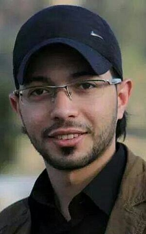 First responder Ahmad Shehadeh of Shuafat Refugee Camp (photo credit: Courtesy/Peace Emergency Team)