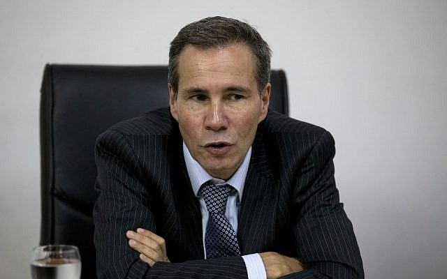 Alberto Nisman (photo credit: AP Photo/Natacha Pisarenko)