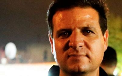 Ayman Odeh, head of the new united Arab party comprised of Balad, Ra'am-Ta'al, Hadash and the Islamic Movement. (Photo credit: CC BY-SA 4.0, Anan M/Wikimedia)