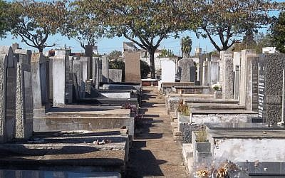 Argentine prosecutor Alberto Nisman was buried in Buenos Aires' Tablada Jewish Cemetery January 29, 2015, in the same section as the victims of the 1994 AMIA bombing. (Wikimedia Commons)