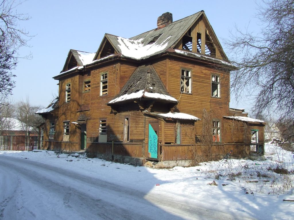 A Warburg Colony house in Brest, Belarus. (photo courtesy of The Together Plan)