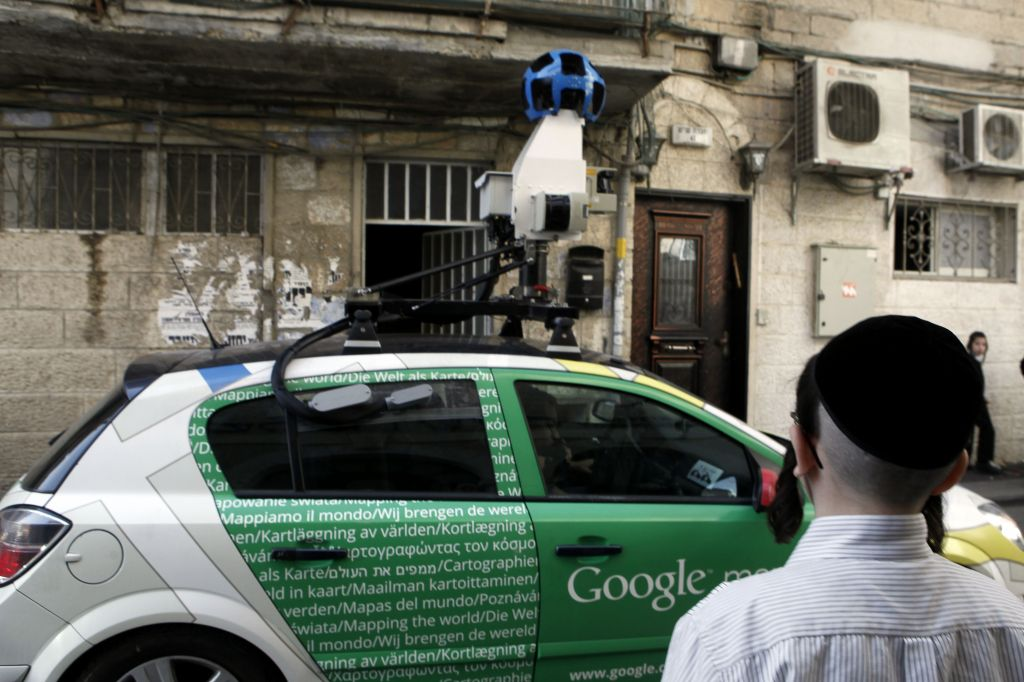 Google Street View returns to map out Israel | The Times of Israel on