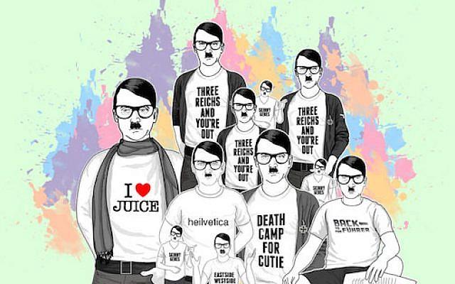 Hipster Hitlers (photo credit: hipsterhitler.com via JTA)
