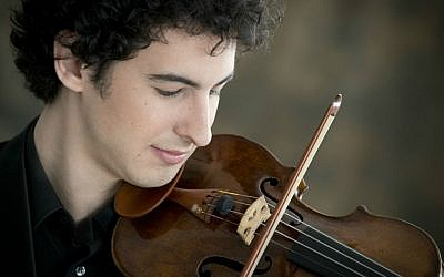 Israeli violinist Itamar Zorman (Richard Blikoff)