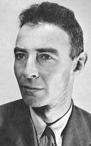 J Robert Oppenheimer, Los Alamos, circa 1944 (photo credit: Wikipedia)