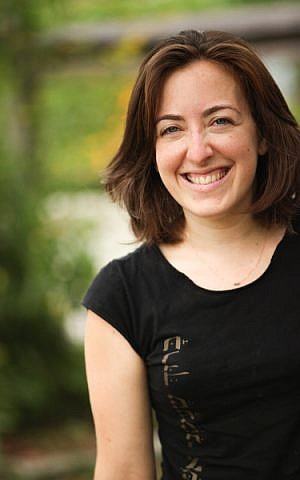 Rabbi Sarah Luria, founder and executive director of Immerse NYC, a community project that aims to put mikveh on the map for everyone. (courtesy)