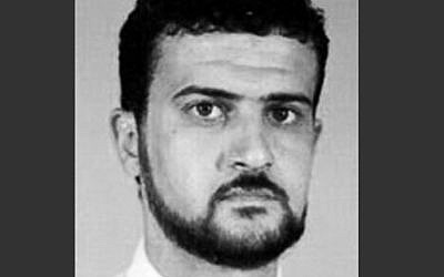 A file image from the FBI website of al-Qaeda leader Abu Anas al-Libi.  (Photo credit: AP/FBI, File)