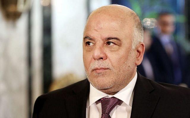 Iraq's Prime Minister Haider al-Abadi (AP/Hadi Mizban)