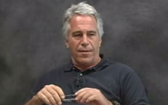 Jeffrey Epstein (YouTube screenshot)