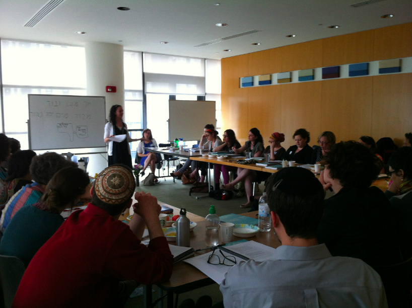 An Immerse NYC course for mikveh advisers. (courtesy)
