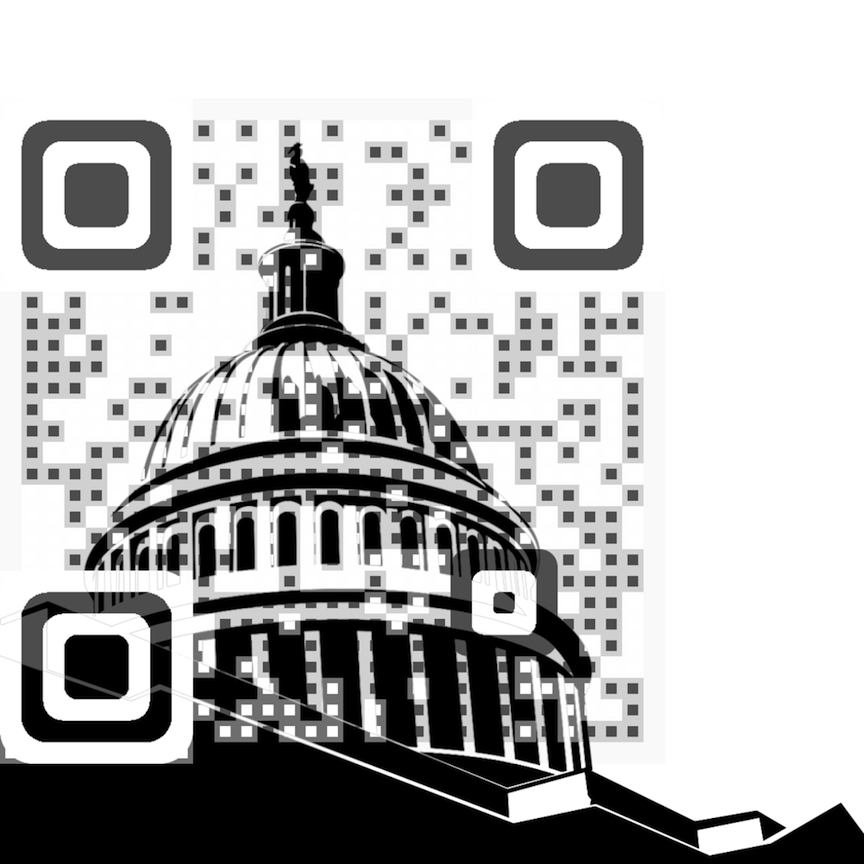 QR code for National Education Week (Photo credit: Courtesy)