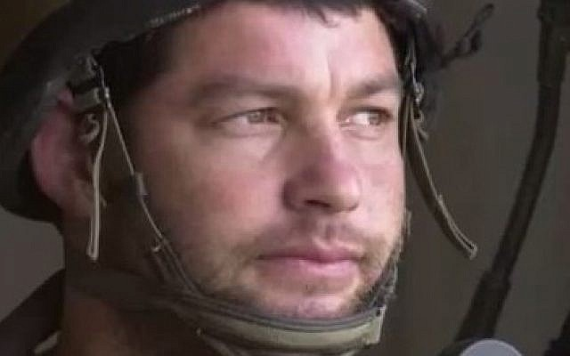 IDF Givate Brigade commander Col. Ofer Winter (Photo credit: YouTube Screenshot)