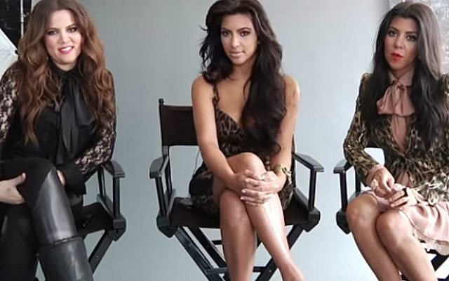 Khloe, Kim and Kourtney Kardashian are reportedly buying a luxury penthouse in Tel Aviv.  (YouTube screenshot)