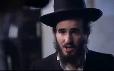 There's a surprising twist to this video ad about a Yeshiva student. (Facebook screenshot)