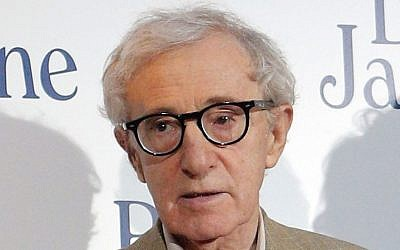Director and actor Woody Allen in Paris, August 27, 2013 (AP/Christophe Ena, File)