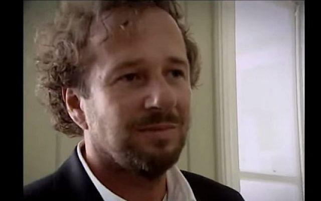 Dutch former minister Herman Heinsbroek (photo credit: YouTube screen capture)