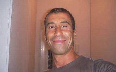 Ahmed Merabet, one of two policemen killed during the January 7, 2015, attack on the offices of French satirical magazine Charlie Hebdo (photo credit: Twitter).