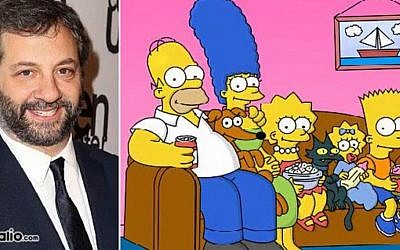 A Simpsons episode written 25 years ago by comedy director Judd Apatow is set to air on FOX January 11, 2015.  (Photo credit: YouTube screenshot)