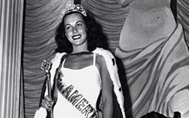 Bess Myerson, the first Jewish Miss America (screenshot: YouTube)