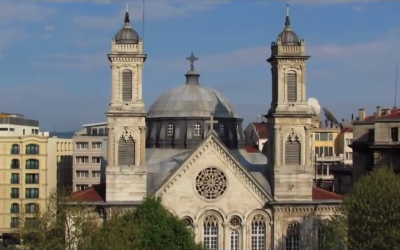 The Holy Trinity Church in Istanbul, Turkey. (screen capture: YouTube)