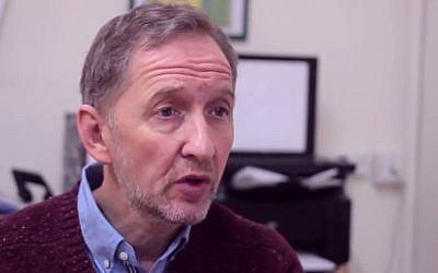 David Horovitz (YouTube screenshot)