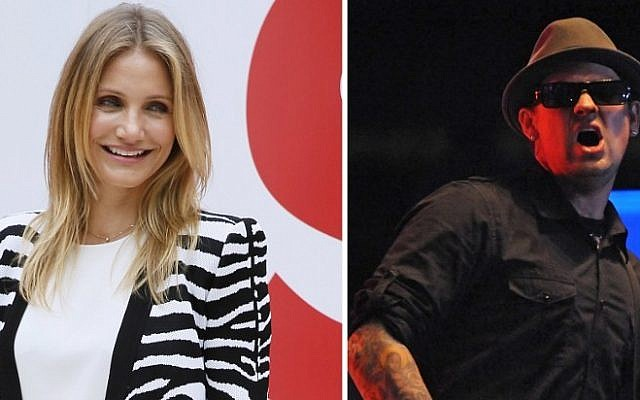A-list actress Cameron Diaz married her musician boyfriend Benji Madden in a private ceremony at their Beverly Hills home, reports said January 6, 2015. (Photo credit: AFP PHOTO/PATRICK KOVARIK/JOSE CABEZAS/FILES)