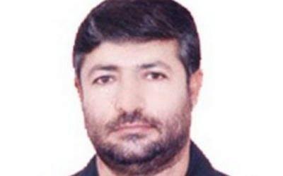 Iranian general Mohammad Ali Allahdadi (Photo credit: Facebook)