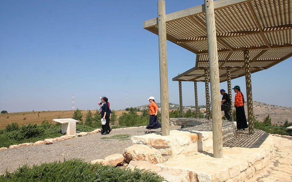 The Shamir Overlook  (photo credit: Shmuel Bar-Am)