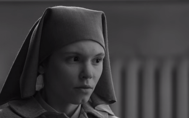 A scene from the Polish movie 'Ida' (screen capture: YouTube/Film Festivals and Indie Films)