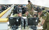 Cadets in the IDF Cyber Defense Unit course, June 10, 2013 (IDF Spokesperson's Unit)