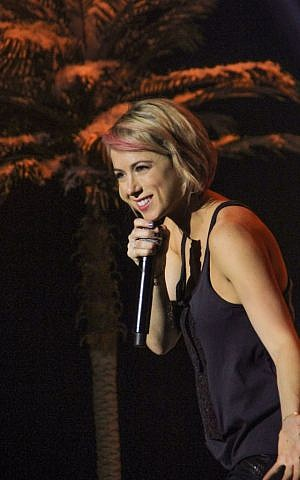 Iliza Shlesinger's most frequently used character is what she refers to as her 'demon voice.' (Lisa Higginbotham © 2014 Netflix, Inc.)