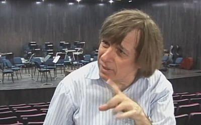 Israeli conductor Israel Yinon (photo credit: YouTube screenshot)