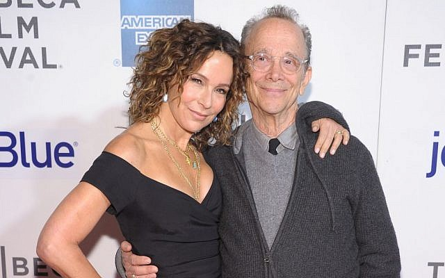"Joel Grey and daughter Jennifer Grey attend the ""Trust Me"" world premiere, April 20, 2013 in New York City. (Michael Loccisano/Getty Images for Tribeca Film Festival)"