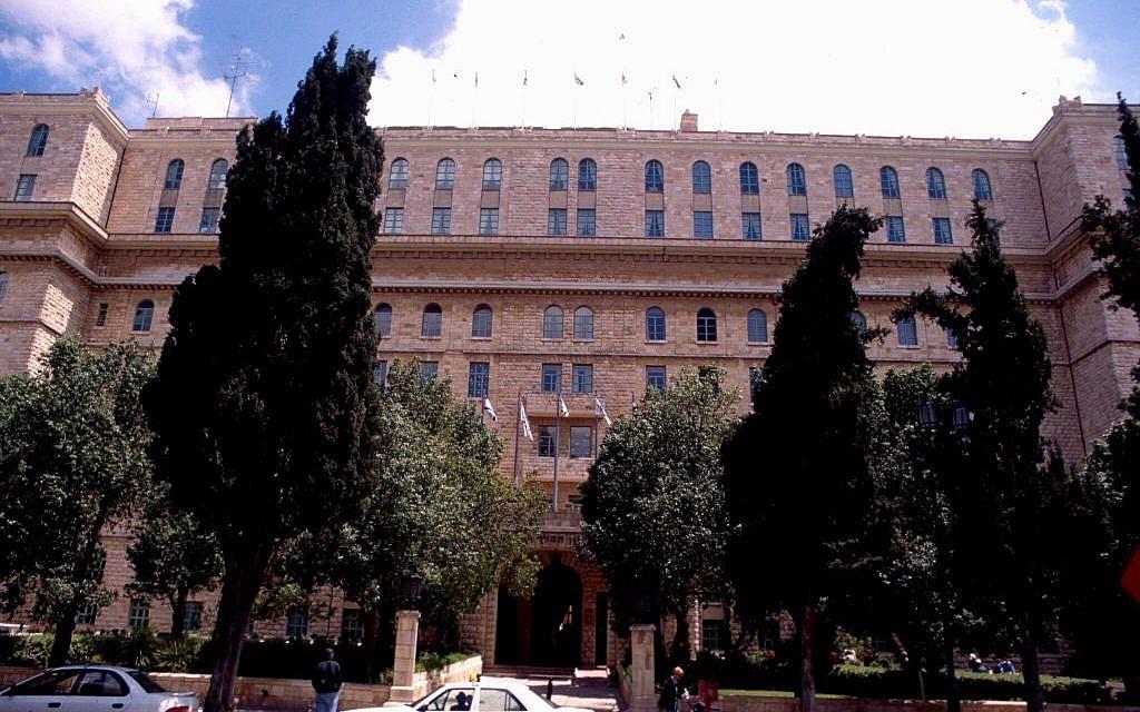 The King David Hotel (photo credit: Shmuel Bar-Am)