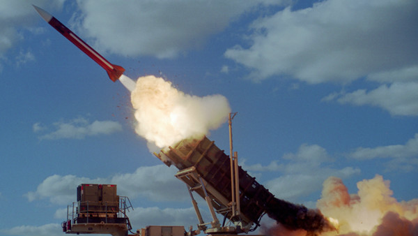 Israeli Patriot Missile Shoots Down Syrian UAV