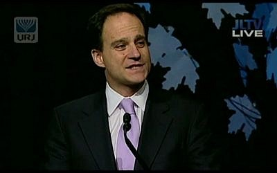 Rabbi Jonah Pesner (screen capture: YouTube)
