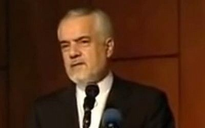 Former Iranian Vice President Mohammed Reza Rahimi (photo credit: YouTube screenshot)