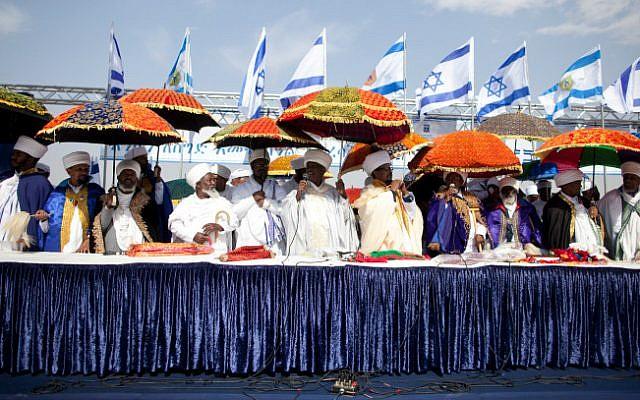 The Sigd celebration in Jerusalem on October 31, 2013 (photo credit: Flash 90)